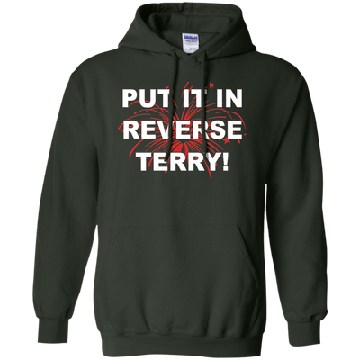 Put It In Reverse Terry Hoodie Dark - Forest Green - Shipping Worldwide - NINONINE