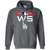 Dodgers World Series Hoodie - Dark Heather - Shipping Worldwide - NINONINE