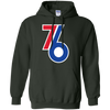 76ers City Edition Hoodie - Forest Green - Shipping Worldwide - NINONINE