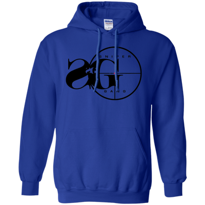 Sniper Gang Hoodie Light - Royal - Shipping Worldwide - NINONINE
