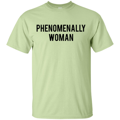 Phenomenally Woman Shirt - Pistachio - Shipping Worldwide - NINONINE