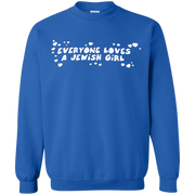 Everyone Loves A Jewish Girl Sweatshirt