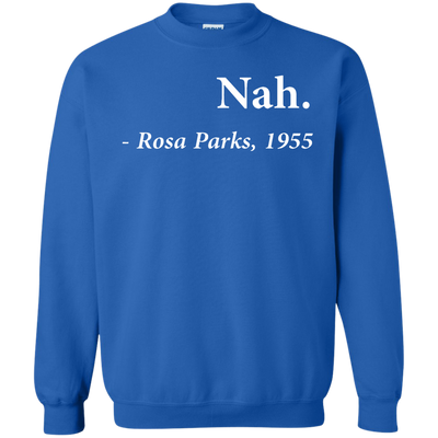 Nah Rosa Parks Sweater - Royal - Shipping Worldwide - NINONINE