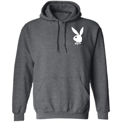 Playboy Bunny Hoodie - Dark Heather - Worldwide Shipping - NINONINE