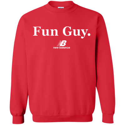 New Balance Fun Guy Sweater - Red - Shipping Worldwide - NINONINE