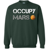 Occupy Mars Sweater - Forest Green - Shipping Worldwide - NINONINE