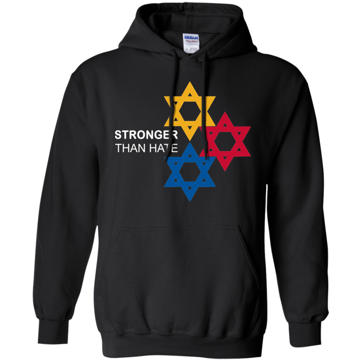 Pittsburgh Stronger Than Hate Hoodie