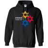 Pittsburgh Stronger Than Hate Hoodie - Black - Shipping Worldwide - NINONINE