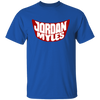 Jordan Myles Shirt - Royal - Worldwide Shipping - NINONINE