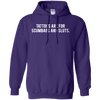 Tattoos Are For Scumbags Hoodie - Purple - Shipping Worldwide - NINONINE