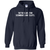 Tattoos Are For Scumbags Hoodie - Navy - Shipping Worldwide - NINONINE