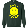 Have A Day Sweater - Forest Green - Shipping Worldwide - NINONINE