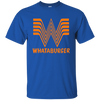Whataburger Shirt - Royal - Shipping Worldwide - NINONINE