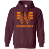 Whataburger Hoodie - Maroon - Shipping Worldwide - NINONINE