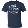 Maison Kitsune Shirt Dark - Navy - Shipping Worldwide - NINONINE