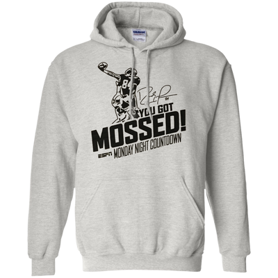 You Got Mossed Hoodie - Ash - Shipping Worldwide - NINONINE