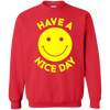 Have A Day Sweater - Red - Shipping Worldwide - NINONINE