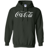 Coca Cola Hoodie - Forest Green - Shipping Worldwide - NINONINE