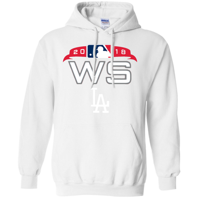 Dodgers World Series Hoodie - White - Shipping Worldwide - NINONINE