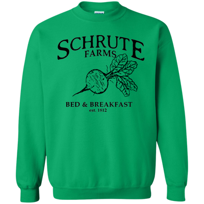 Schrute Farms Bed And Breakfast Est 1812 Sweater - Irish Green - Shipping Worldwide - NINONINE
