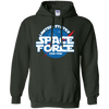 United States Space Force Pew Pew Hoodie - Forest Green - Shipping Worldwide - NINONINE