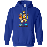 Straw Hat Pirates Menber Chibi One Piece Hoodie