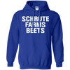 Schrute Farms Hoodie Dark - Royal - Shipping Worldwide - NINONINE
