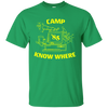 Camp Know Where Shirt - Irish Green - Shipping Worldwide - NINONINE