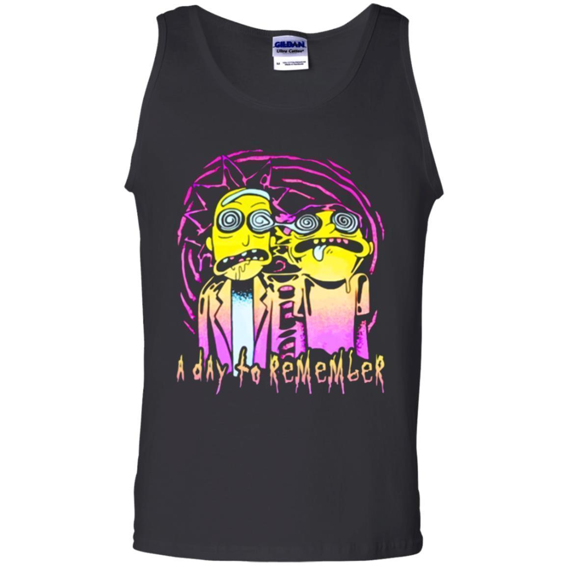 A Day To Remember Rick And Morty Tank Top