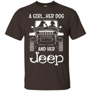 A Girl Her Dog And Her Jeep Shirt