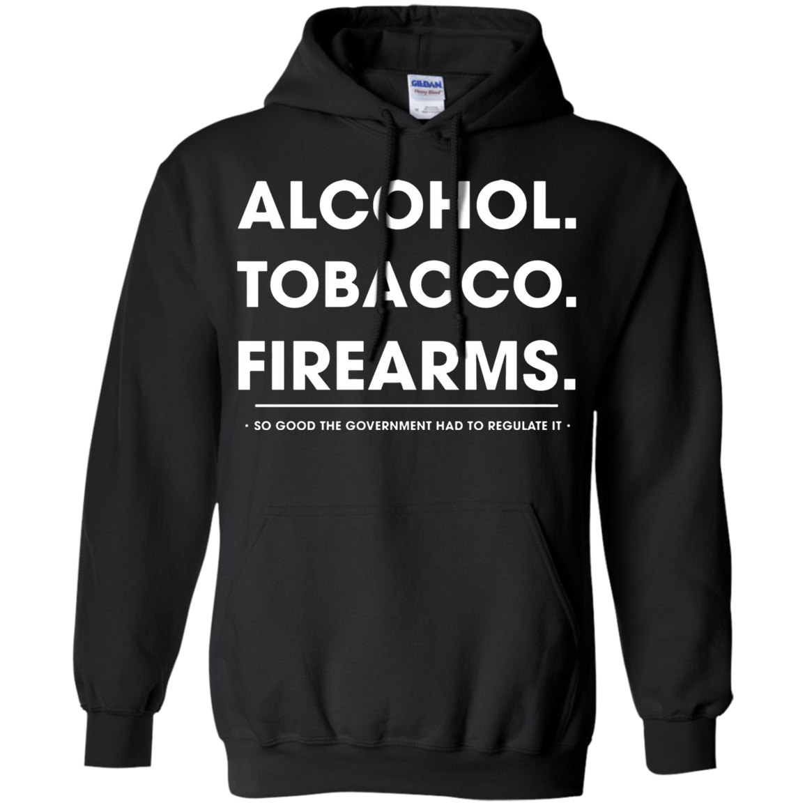 Alcohol Tobacco Firearms Hoodie