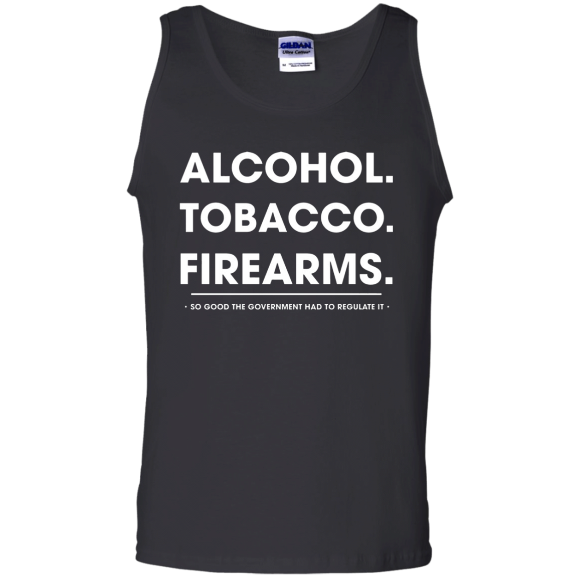 Alcohol Tobacco Firearms Tank Top