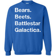 Bears Beets Battlestar Galactica Sweater