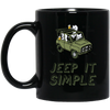 Beep Beep Jeep It Simple Mug - Shipping Worldwide - NINONINE