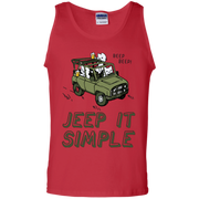 Beep Beep Jeep It Simple Tank Top