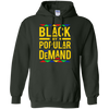Black By Popular Demand Hoodie - Forest Green - Shipping Worldwide - NINONINE
