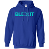 Blexit Hoodie Light - Royal - Shipping Worldwide - NINONINE