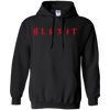 Blexit Hoodie Red Text - Black - Shipping Worldwide - NINONINE