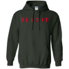 Blexit Hoodie Red Text - Forest Green - Shipping Worldwide - NINONINE