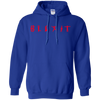 Blexit Hoodie Red Text - Royal - Shipping Worldwide - NINONINE