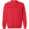 Blexit Sweater Red Text - Red - Shipping Worldwide - NINONINE