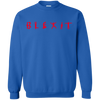 Blexit Sweater Red Text - Royal - Shipping Worldwide - NINONINE