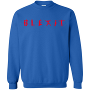 Blexit Sweater Red Text