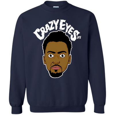 Bobby Portis Crazy Eyes Sweatshirt Sweater White Style - Navy - Shipping Worldwide - NINONINE