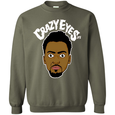 Bobby Portis Crazy Eyes Sweatshirt Sweater White Style - Military Green - Shipping Worldwide - NINONINE