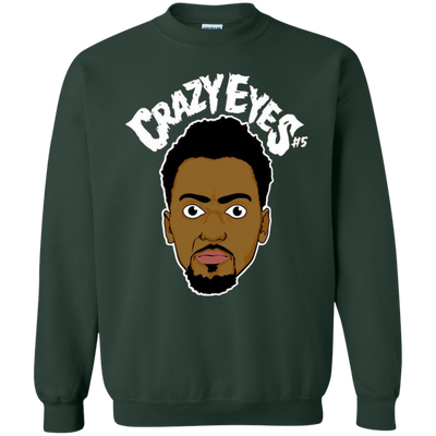 Bobby Portis Crazy Eyes Sweatshirt Sweater White Style - Forest Green - Shipping Worldwide - NINONINE
