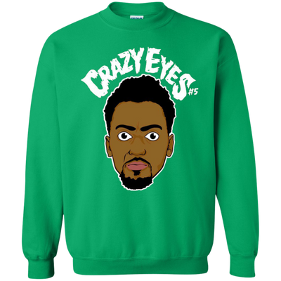 Bobby Portis Crazy Eyes Sweatshirt Sweater White Style - Irish Green - Shipping Worldwide - NINONINE