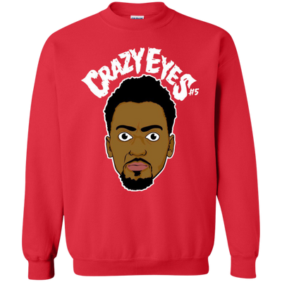 Bobby Portis Crazy Eyes Sweatshirt Sweater White Style - Red - Shipping Worldwide - NINONINE