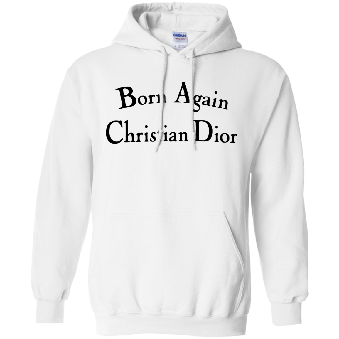Born Again Christian Dior Hoodie Light