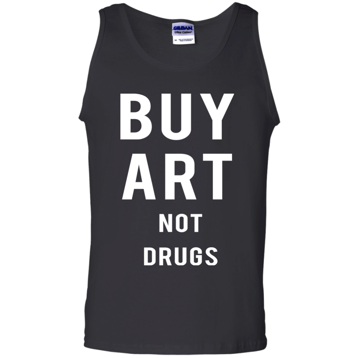 Buy Art Not Drugs Tank top